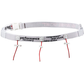 Compressport Racebelt White